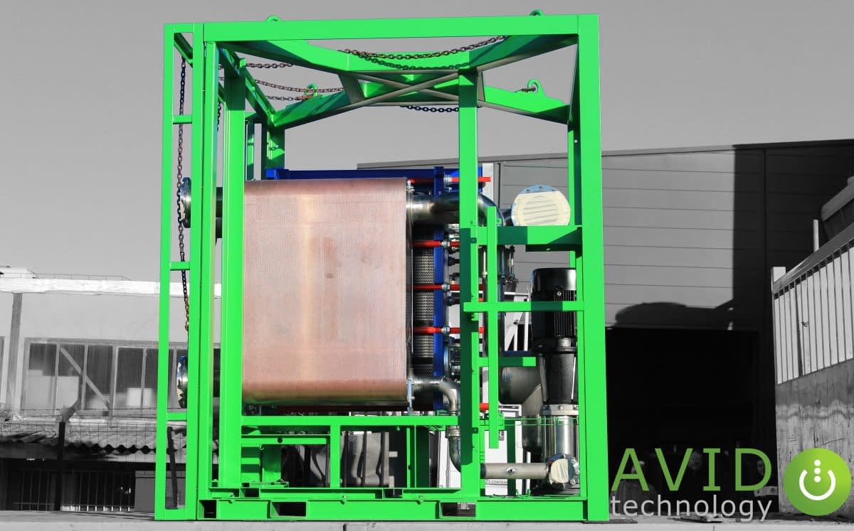 AVID Technology Waste Heat Recovery unit