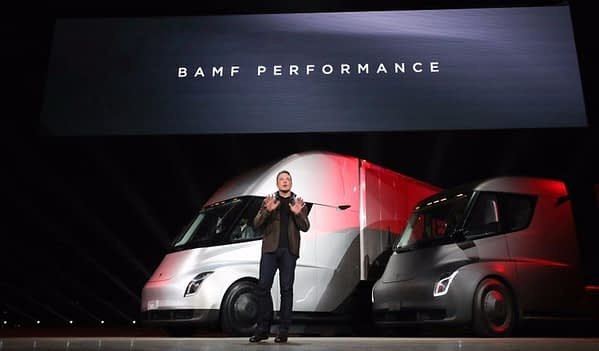 Tesla truck annoucement with Elon Musk